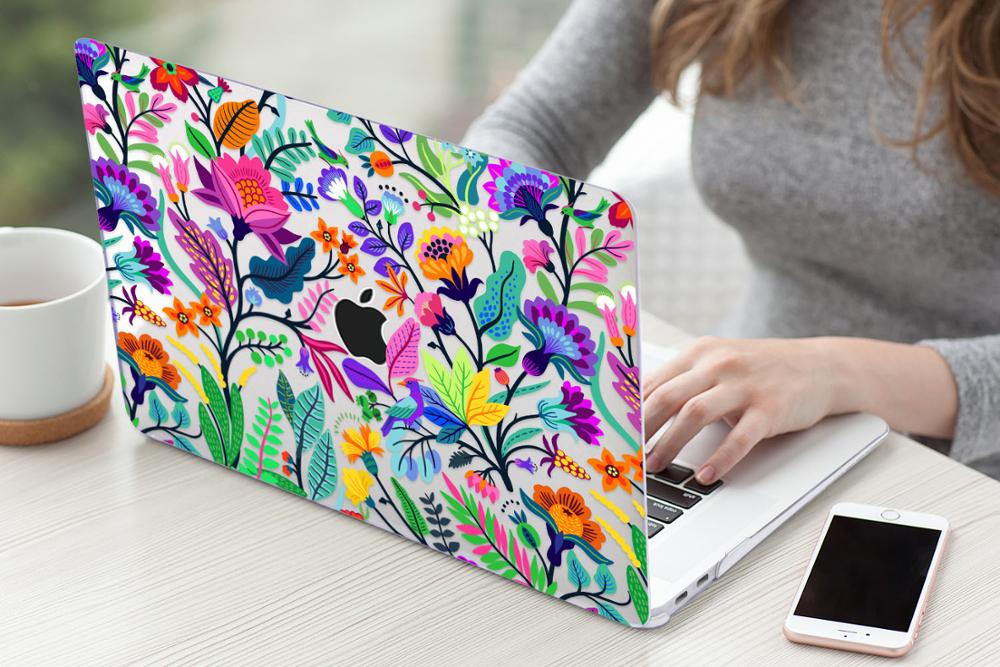 Floral Case for MacBook 169