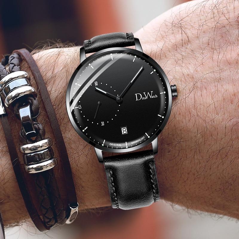 DITA marque minimaliste montres de luxe montre étanche hommes mode Sport montre horloge Relogio Maculino Reloj Hombre
