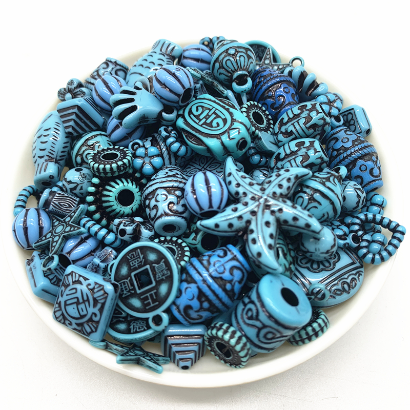 Wholesale New 20g Acrylic Beads Mixing Beads Style For DIY Handmade Bracelet Jewelry Making Accessories#30