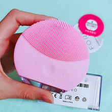 FOREO Luna Mini 2 Face cleansing brush With Real LOGO Cleaning instrument USB Charging Waterproof 8 Level,ccept Dropshipping