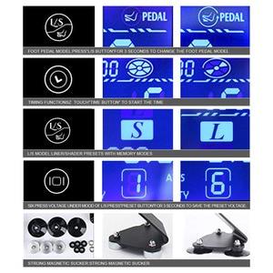 Image 3 - Fonte de alimentação da tatuagem hp 2 atualizar tela de toque TP 5 digital inteligente lcd maquiagem tatuagem máquina suprimentos conjunto