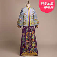 2020 Terno Noivo Colete Gravata Xiuhe הכלה 2020 כוכב החדש חתן סיני שמלת חתונה טוסט טאנג חליפת גברים של תלבושות