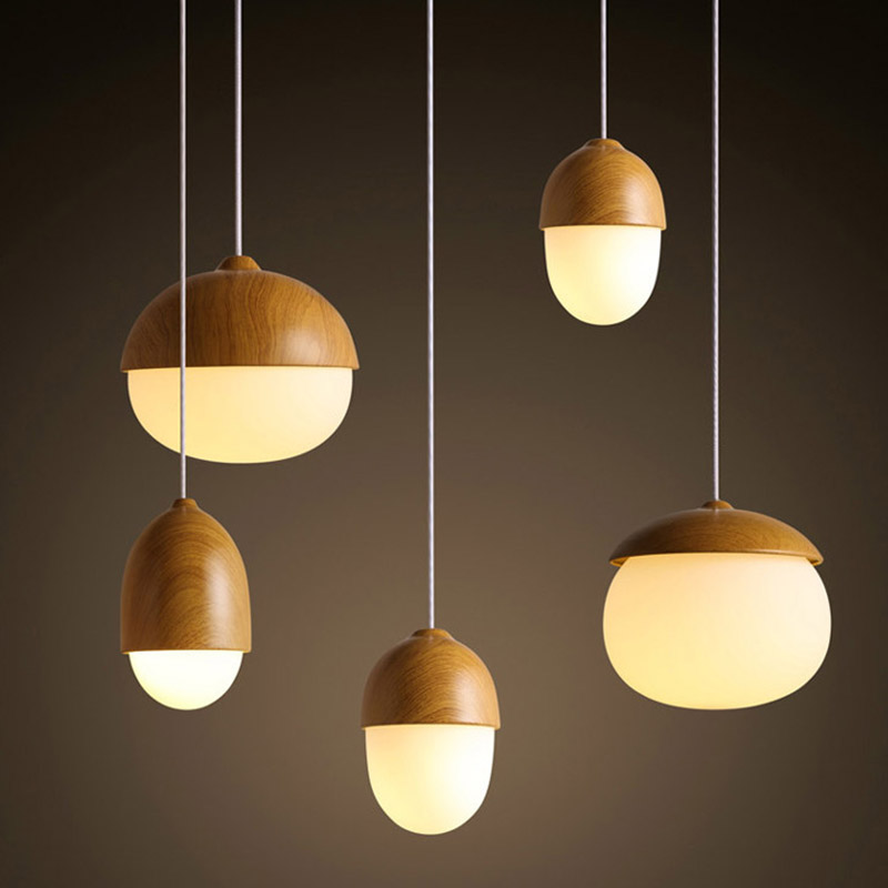 Vintage Northern Europe Style Metal Grain Glass Pendant Lights for Kids Room Study Room Office   M25 Pendant Lights     - title=