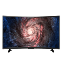 55 inch curved led tv  hd television smart  led tv 1