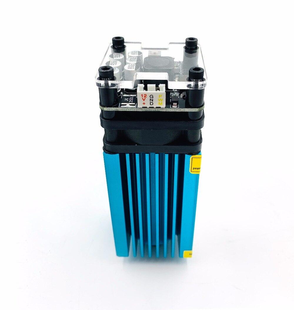 500mw 2500mw 5500mw15000mw 33mm Einstellbar Blau Laser Modul CNC Laser Gravur PWM/TTL Modul Laser Cutter für CNC 3018 pro
