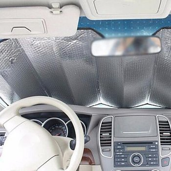 High Quality Car Front Windshield Frost Sun Visor Shade Dust Protector Prevent Snow Ice Cover Universal Sunshades Car Exterior image