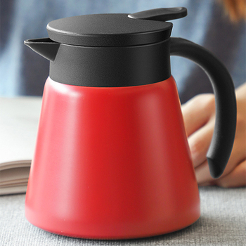 680ml and 880ml Thermal Jug and Vacuum Coffee Pot Made with Stainless Steel with Insulation Wall