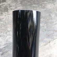 152*10/20/30/40/50cm preto brilhante filme de vinil gloss brilhante carro envoltório folha adesivo com bolha de ar livre carro da motocicleta envolvimento