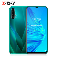 XGODY A50 3G Smartphone 6.5 19:9 Waterdrop Screen Mobile Phone Android 9.0 1GB+4GB MT6580 Quad Core Dual SIM 5MP Camera 3000mAh