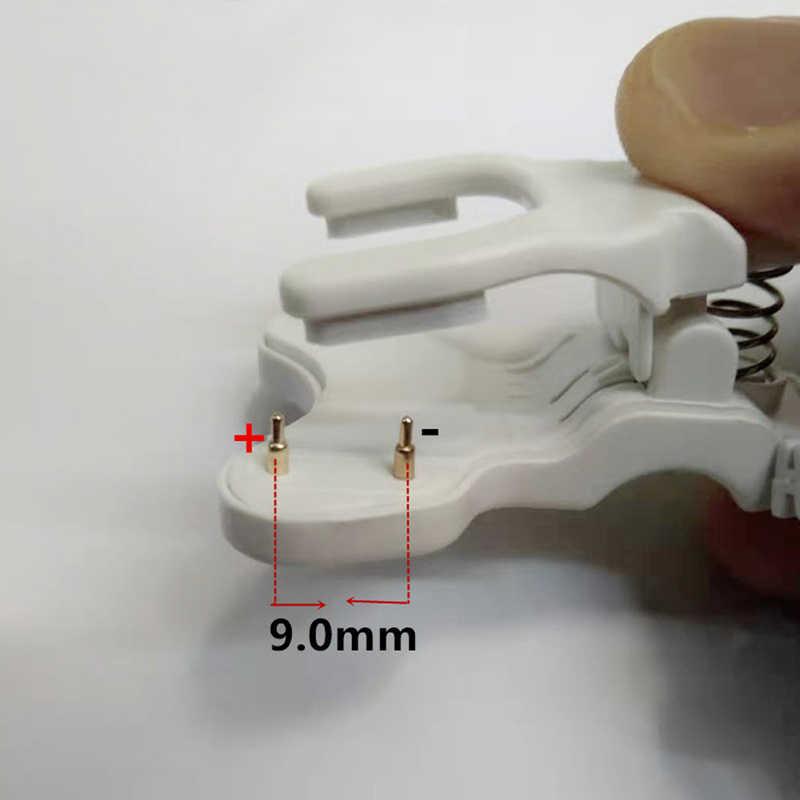 מפעל ישיר קליפ סוג אוניברסלי ילד smart watch wristbands 2 פינים מרווח 9mm שעון צמיד טעינת קו אוניברסלי מטען