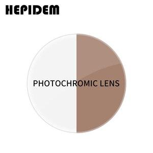 Image 1 - 1.56 1.61 1.67 (SPH  0.50 ~ 8.00) photochromic מרשם CR 39 שרף אספריים משקפיים עדשות קוצר ראיה Lentes