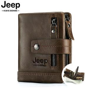 Image 1 - 2020 100% hakiki deri erkek cüzdan portföy erkek Cuzdan küçük Portomonee Perse bozuk para cüzdanı moda para çantası erkekler için