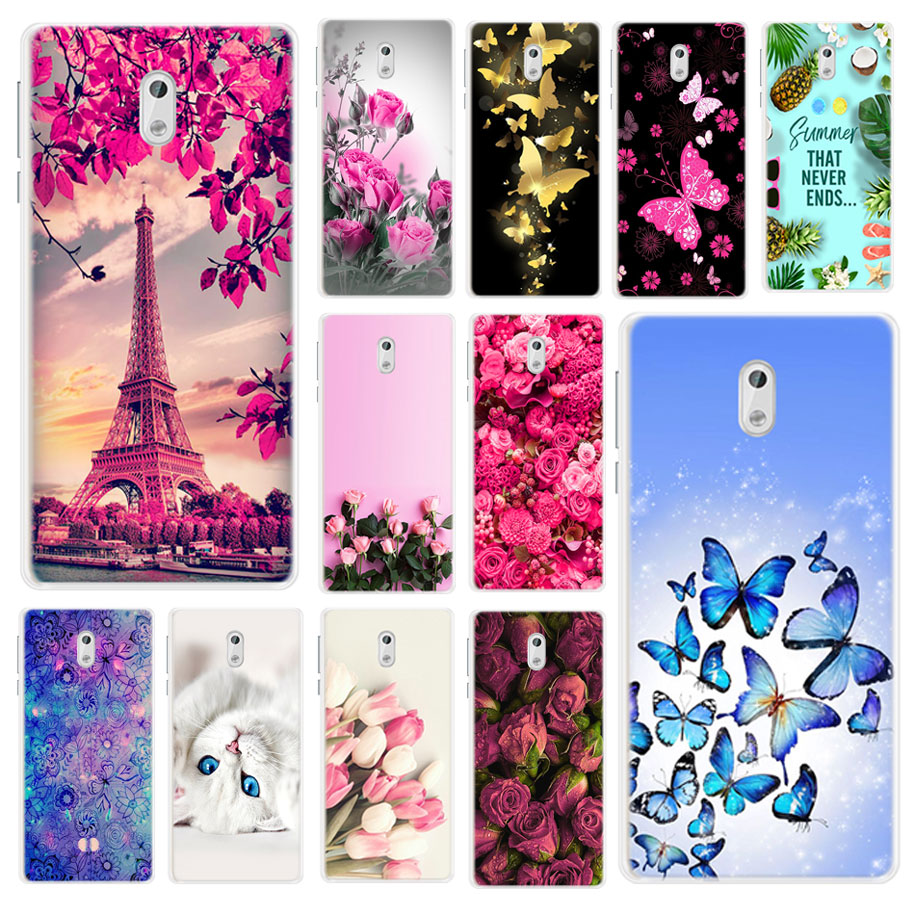 For Funda <font><b>NOKIA</b></font> 5 Case TA-1024 TA-<font><b>1053</b></font> Cover Soft Silicone TPU 3D Cute Cartoon Back Cover For <font><b>NOKIA</b></font> 3 Case TA-1032 TA-1020 Coque image