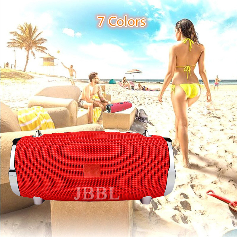 Fashion Xtreme Series Connection Portable Waterproof Rechargeable Wireless Bluetooth <font><b>Speaker</b></font> Music TF MP3 Player image