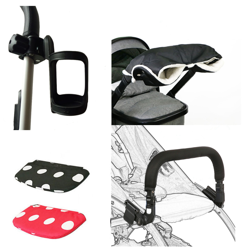 Baby Stroller Accessories For YOYA Pram Parts Baby Cup Holder Feet Extension Luggage Bag Stroller Muff