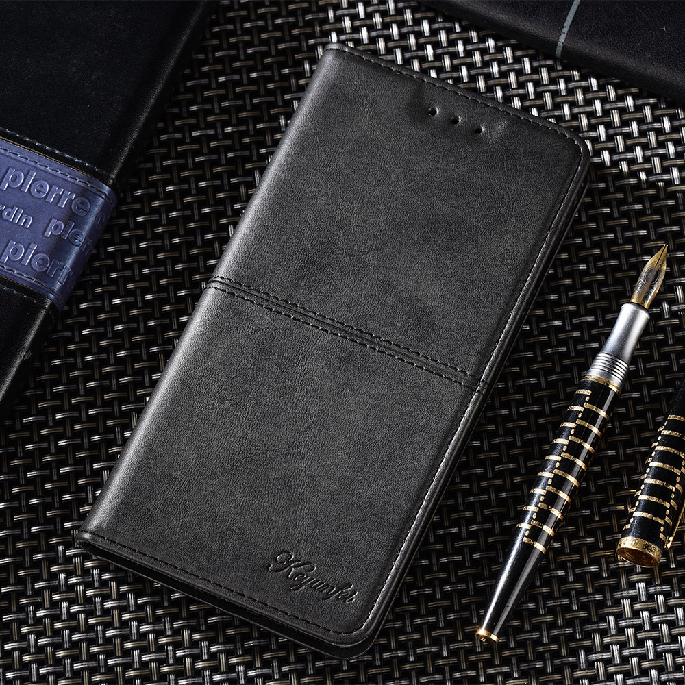 Luxury Leather <font><b>Flip</b></font> <font><b>Case</b></font> For <font><b>Samsung</b></font> S20 S20 plus S9 S10 S8 Cover For Galaxy A51 A71 A20e <font><b>A30</b></font> A50 A70 A7 A8 J4 Wallet <font><b>Flip</b></font> <font><b>Case</b></font> image