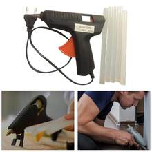 1 Set Hot Melt Glue Gun Hot Melt Rod 20W+5Pcs Glue Sticks Mini Electric Heating Hot Melt Glue Gun Repair Diy(China)