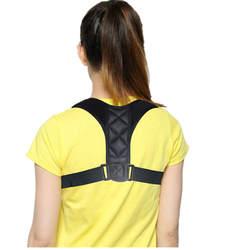 Медицинские Регулируемая ключицы Корректор осанки Для мужчин Woe Для мужчин верхней части спины бандаж плечо поясничного Поддержка ремень