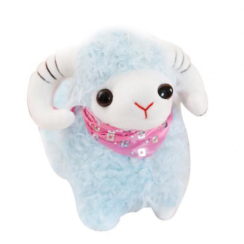 New Cute Expression Sheep soft plush baby toys Kids sleep Stuffed Dolls Horse Squeeze Toys for Girls birthday gift