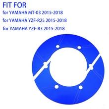 цена на Motorbike Rear Wheel Sprockets Chain Gear Decorative Cover For YAMAHA MT03 R3 R25 MT-03 R-3 R-25 2015-2018 MT 03 R 3 R 25