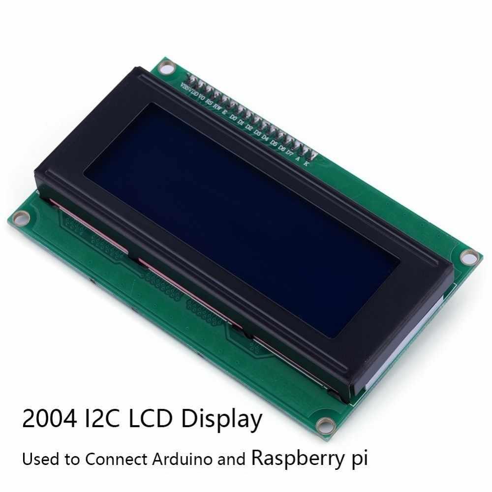 LCD 2004 HD44780 blau I2C HD Interface Display Arduino Raspberry LCD2004