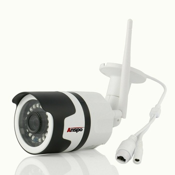 New Anspo Bullet WIFI 1080P HD Outdoor Wireless IR Cut Security IP Camera Night Vision