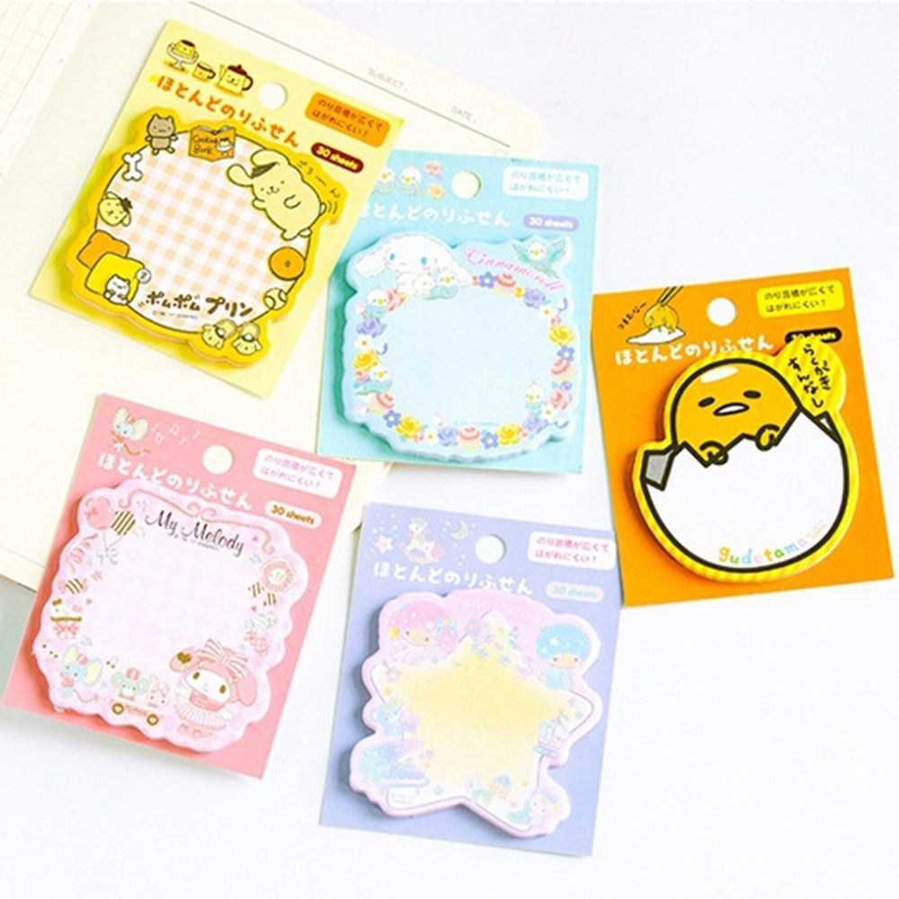 Kawaii Sticky Note Post Memo Pad School Supplies Paper Bookmark Gift For Kid Creative Wholesale