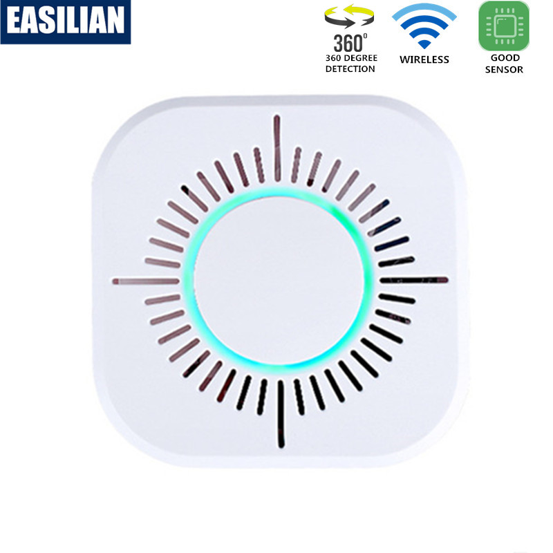 3 In 1 RF433MHZ Smoke Detector Wireless Wifi Fire Alarm Independent Smoke Sensor Work With Sonoff RF Bridge Home Smart Security