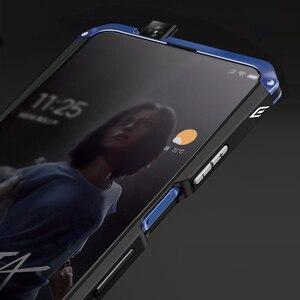 Image 3 - Luksusowe, odporne na wstrząsy pancerz metalowa obudowa Case dla Huawei Honor 9X 9X PRO guma pełna ochronna powrót Coque dla Huawei honor 9x 9x pro