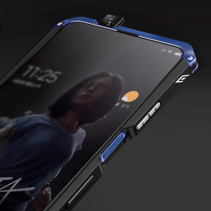 Image 3 - Luxury Shockproof Armor Metal Case Case for Huawei Honor 9X 9X PRO Rubber Full Protective Back Coque for Huawei honor 9x 9x pro
