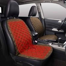 AUTOYOUTH 12V pokrowce do podgrzewania fotela samochodowego uniwersalne zimowe poduszki na siedzenia samochodowe podgrzewane podkładki utrzymują ciepło dla mercedesa w211 skoda octavia 2