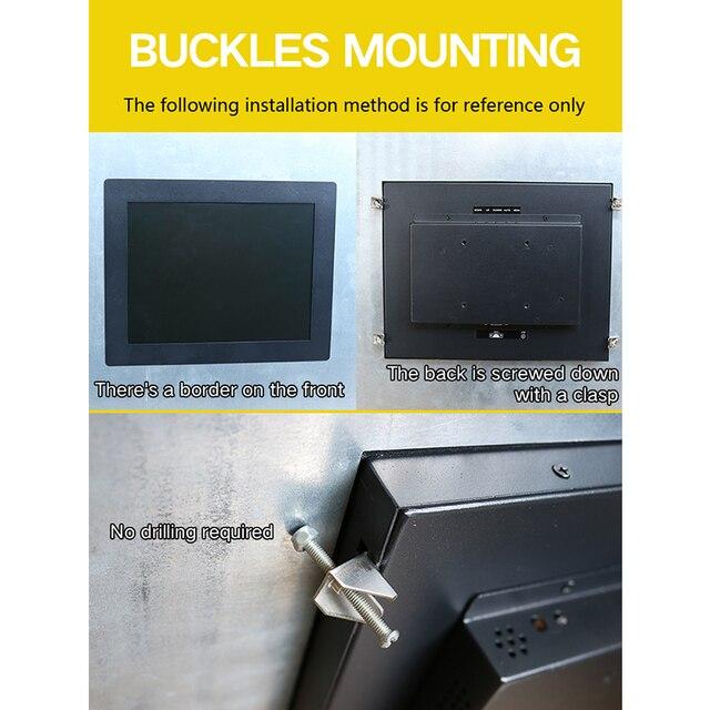 новый 12 дюймовый монитор промышленного дисплея с разрешением фотография