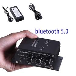 K3118 2x30W wyjście super bas Hi Fi klasy D wzmacniacz mocy wzmacniacz do kina domowego w Wzmacniacz od Elektronika użytkowa na