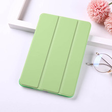 Candy Color Painted Flip Case For iPad Mini 5 4 3 2 1 Tablet for Apple PU Leather Cover Back