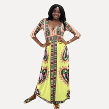 Dashiki African Dresses For Women Ankara Clothes Long Dress Womens 2019