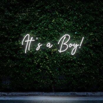 It's A Boy Neon Sign