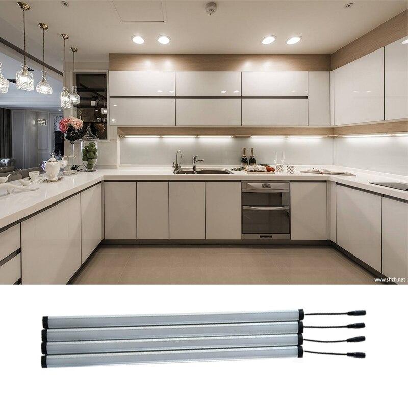 2019 New High CRI +90 4pcs/lot LED Bar Lights 5V 12V 24V 2835 LED  Rigid Strip 50cm LED Tube With U Aluminium Shell + PC Cover