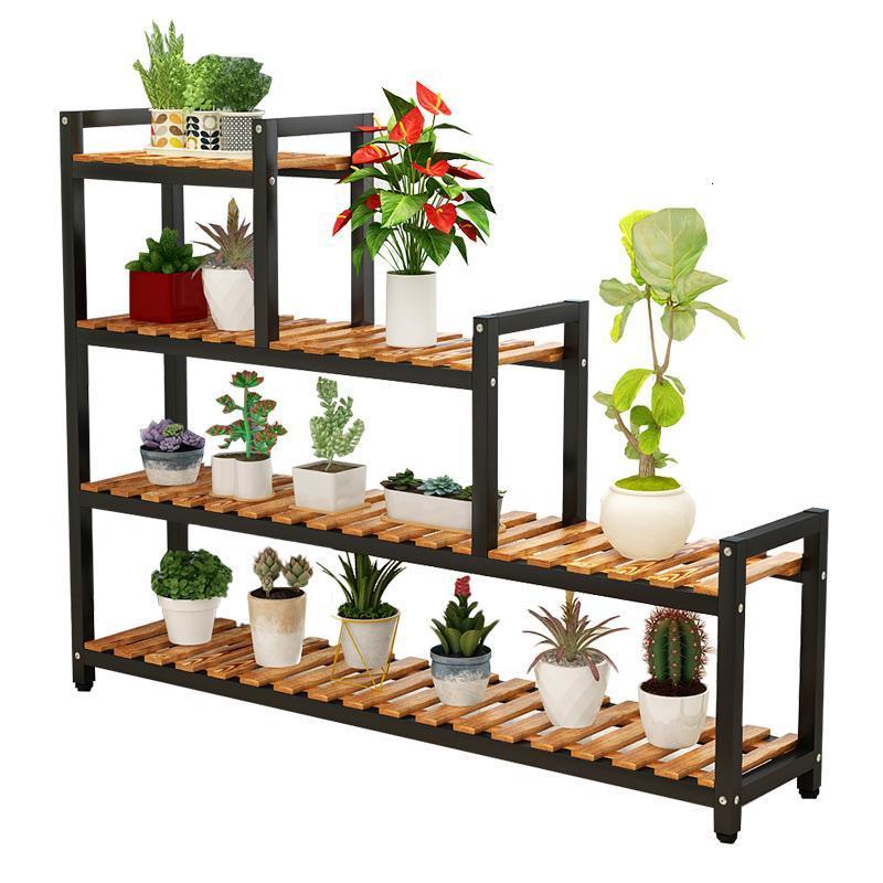 Saksi Standi Plantenrekken Estante Para Suporte Flores Indoor Garden Shelves For Plant Rack Outdoor Balcony Shelf Flower Stand