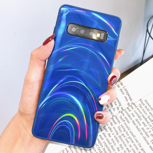 3D Rainbow Glitter Case for Samsung Note 20 S20+ S10 S9 S8 A11 A51 A21S A50 M30S Note 10 Pro Cases Holographic Prism Laser Cover 4