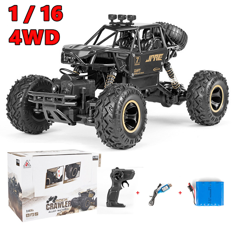 28CM 1/16 Auto RC Car 4WD Machine Radio Controlled Cars Toys with Remote Control Car 4x4 Off Road Vehicle For Kid Boy Xmas Gifts image