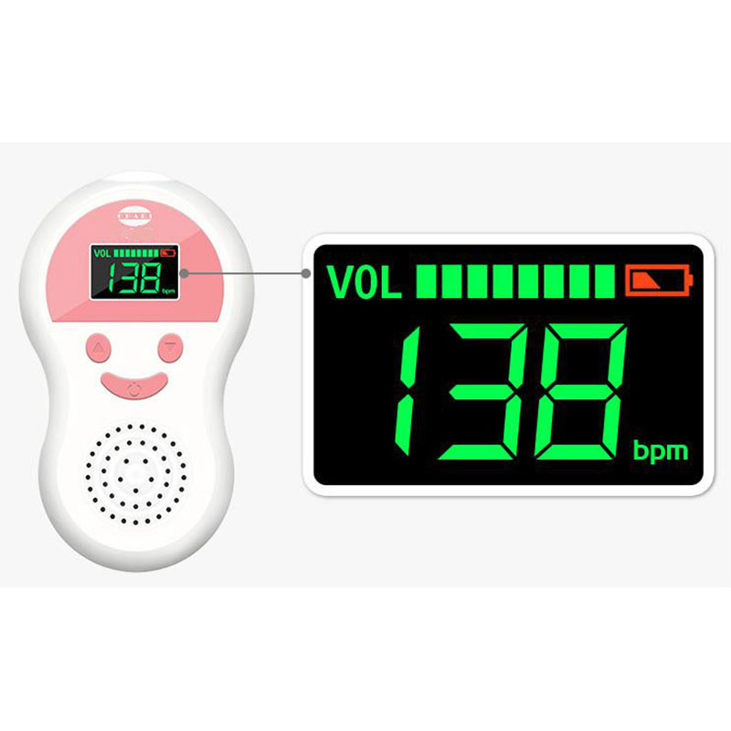 No Radiation Monitoring Fetal Doppler Household Test Quickened Pregnant Women To Fetal Monitor Right Tire Gauge