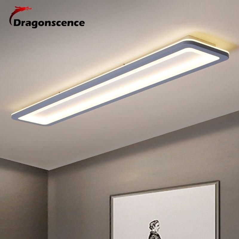 Dragonscence Moderne Led Decke Lichter Für Schlafzimmer Küche gang Lichter Plexiglas Lange Streifen Decke lampe leuchten