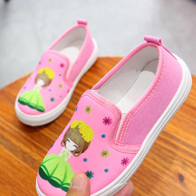 Children canvas shoes spring/autumn