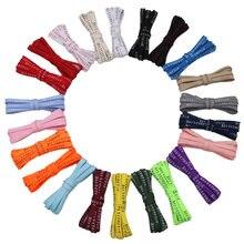 Стильные Плоские шнурки coolstring премиум класса 7 мм с принтом