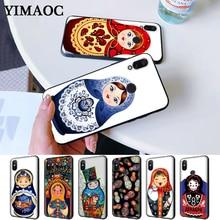 Russian matryoshka Dolls Coque Silicone Case for Redmi Note 4X 5 Pro 6 5A Prime 7 8