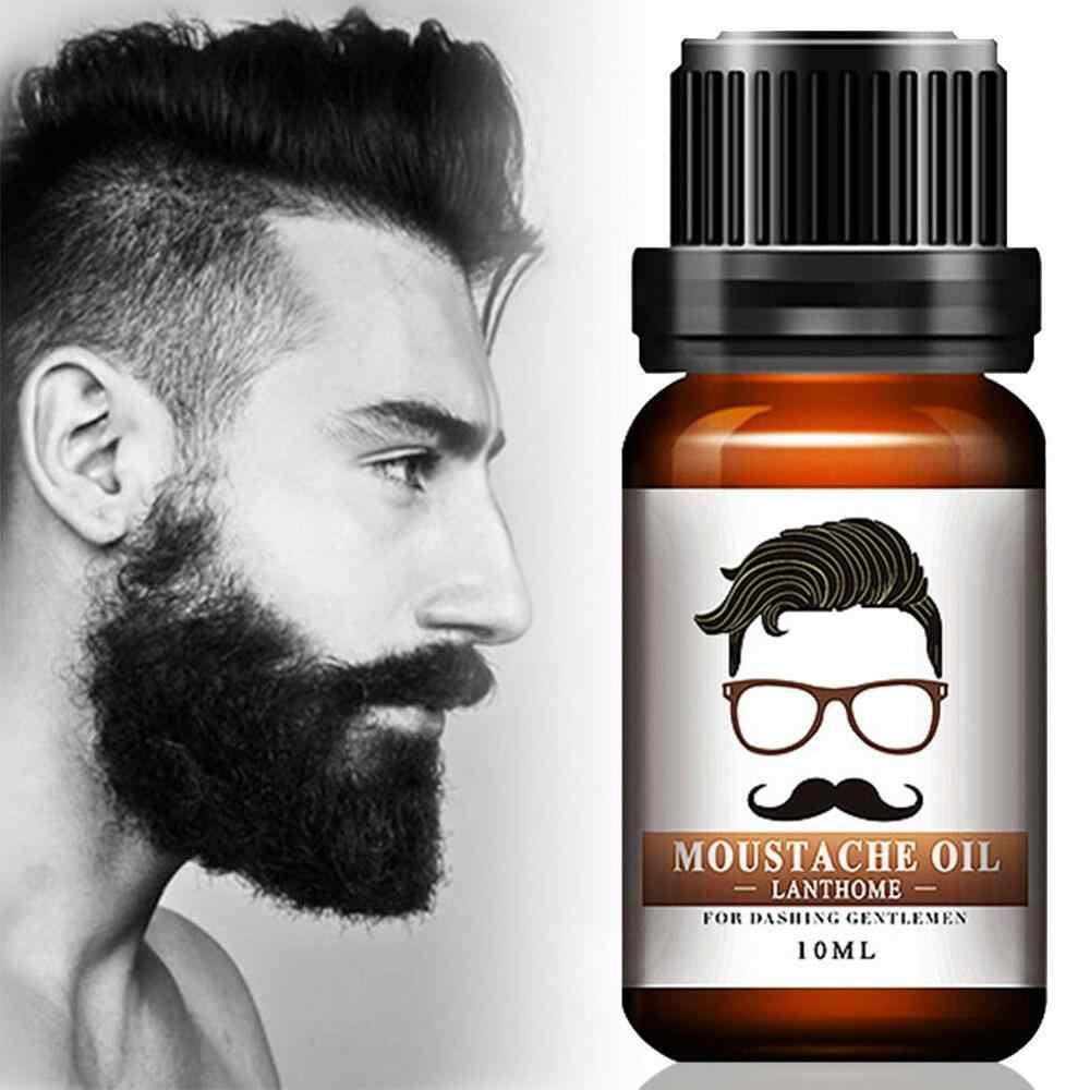 Hommes barbe cheveux moustache croissance rapide huile naturel liquide lissage messieurs Kit