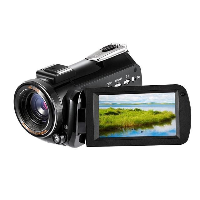 3.1inch Screen Digital Camera Professional Night-vision Recording Used As PC Cam Camcorder Ultra HD 4K Video Camera Anti-shake 3