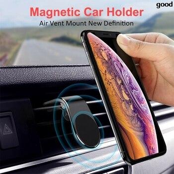 Soporte magnético de coche Universal para peugeot 207 107, polo renault captur, opel, toyota aygo, opel, opel, bmw f30