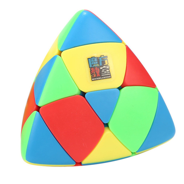 MoYu Mastermorphix Cube 3x3 Puzzle Magic Cube 3x3 Rice Dumpling Cube Triangle Magic Cube Educational Toys For Boys Cubes 1