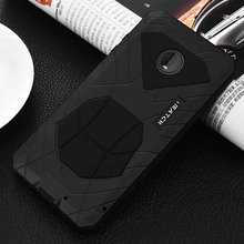 Luxury Outdoor IMATCH Sports Army Tactical Shockproof Metal Silicone Mobile Phone Case Cover For Motorola Moto Z4 KS0307